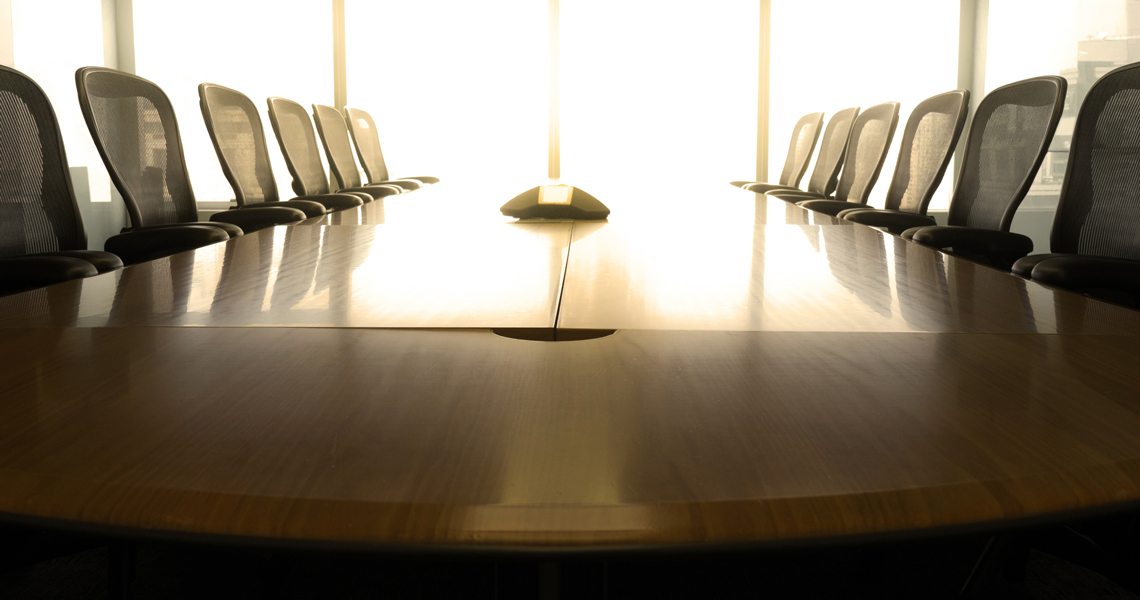 The CEO's role with the Board