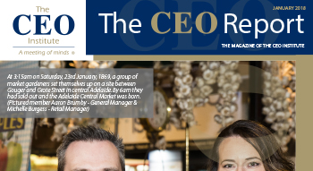 The CEO Report Magazine - January 2018