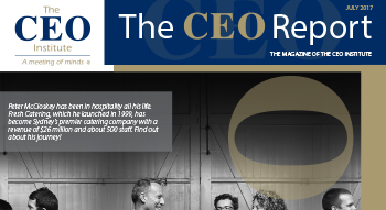 The CEO Report Magazine - July 2017