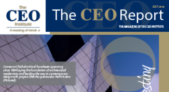 The CEO Report Magazine - July 2016