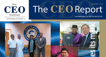 The CEO Report Magazine - January 2016