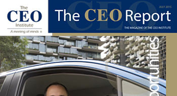 The CEO Report Magazine - July 2015