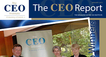 The CEO Report Magazine - January 2015