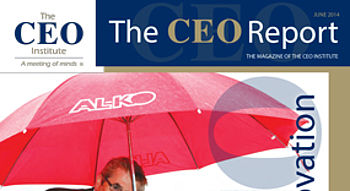 The CEO Report Magazine - June 2014