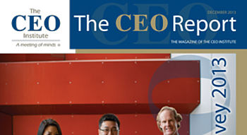 The CEO Report Magazine - December 2013