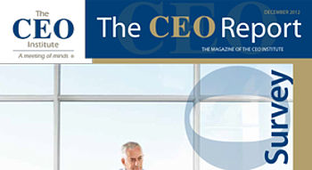 The CEO Report Magazine - December 2012