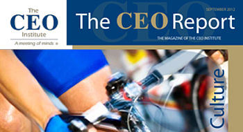 The CEO Report Magazine - September 2012